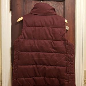 Old Navy Jackets & Coats - Old Navy Wine Puffer Vest